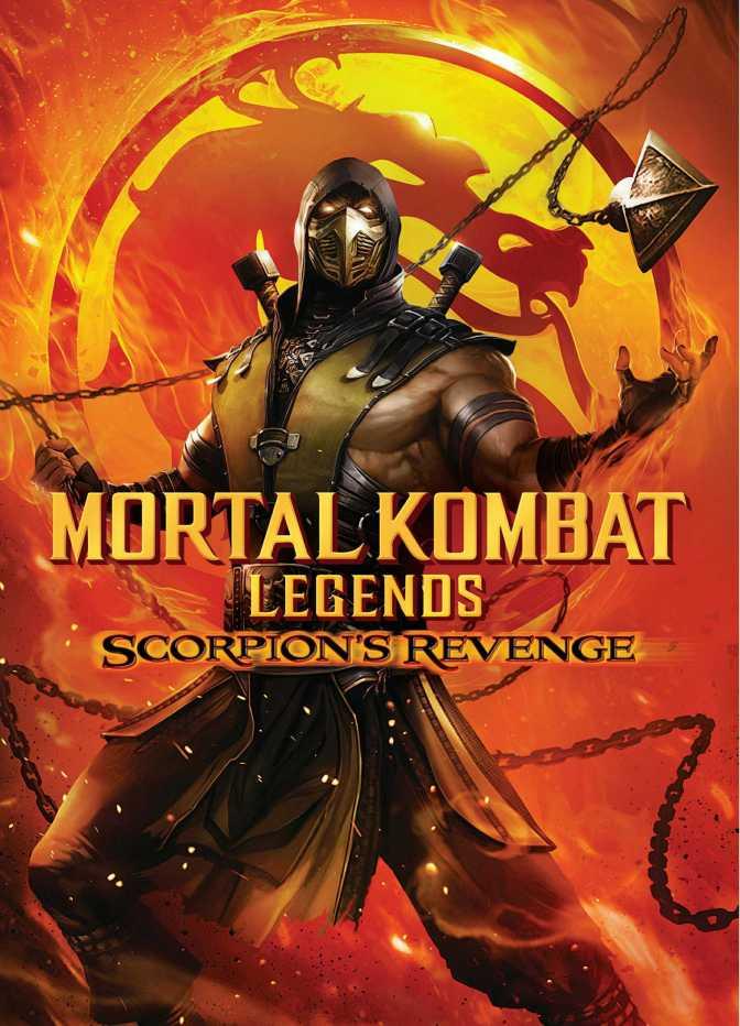 Mortal Kombat Legends: Scorpion's Revenge Cover