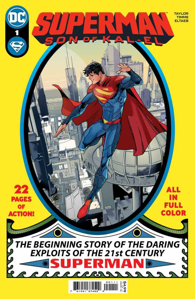 Superman Son of Kal-El Issue One Cover