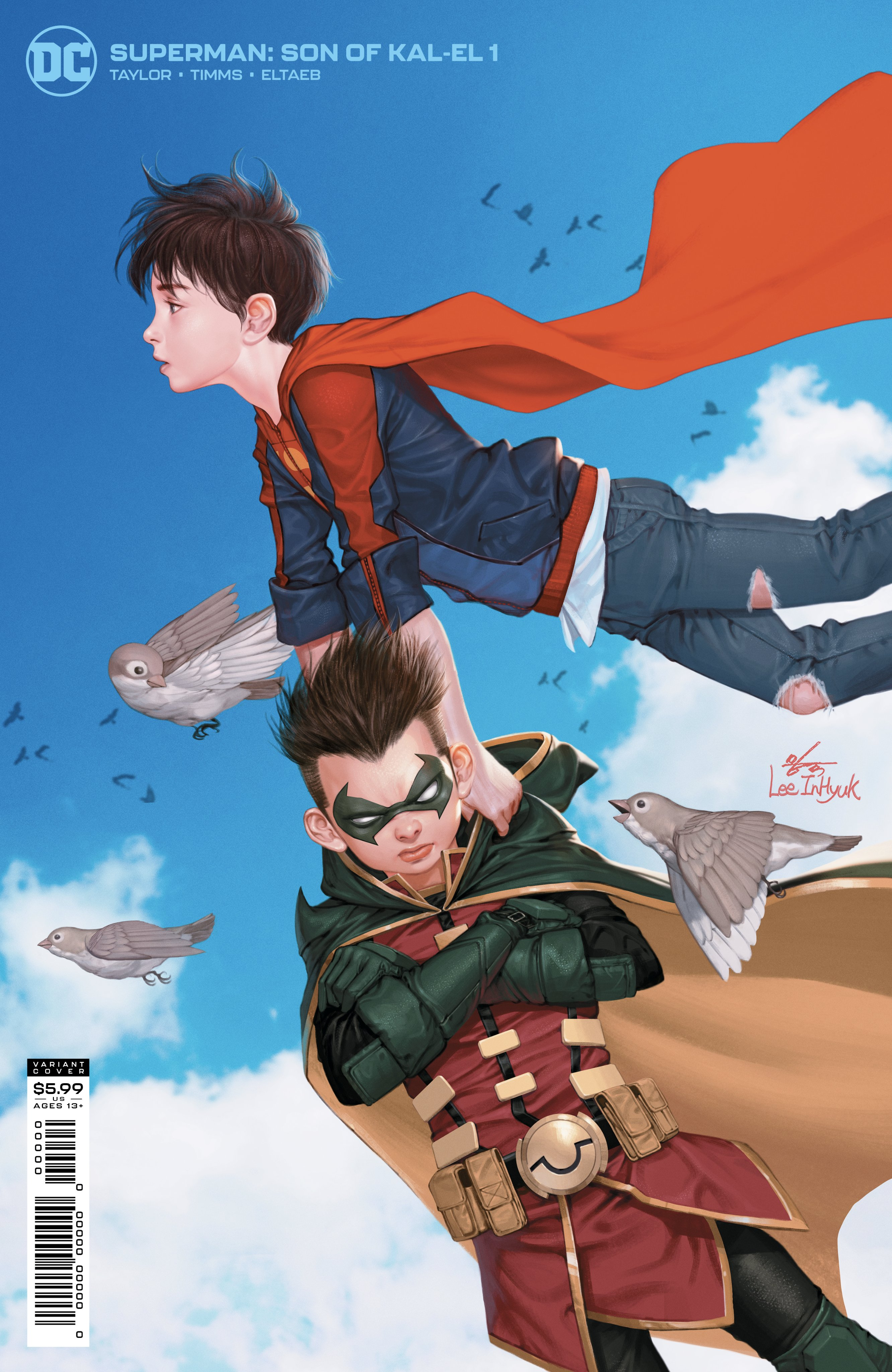 Superman Son of Kal-El Issue One Variant Cover: Lee Inyuk