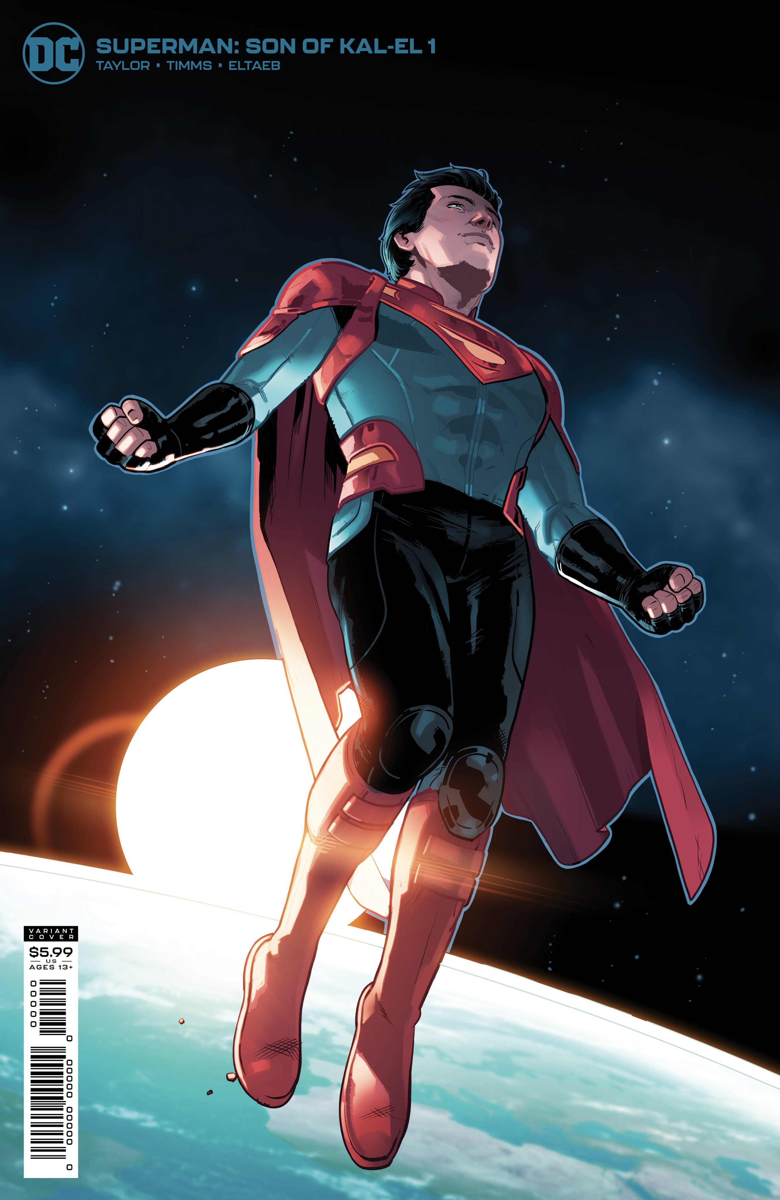 Superman Son of Kal-El Issue One Variant Cover: Steven Bryne