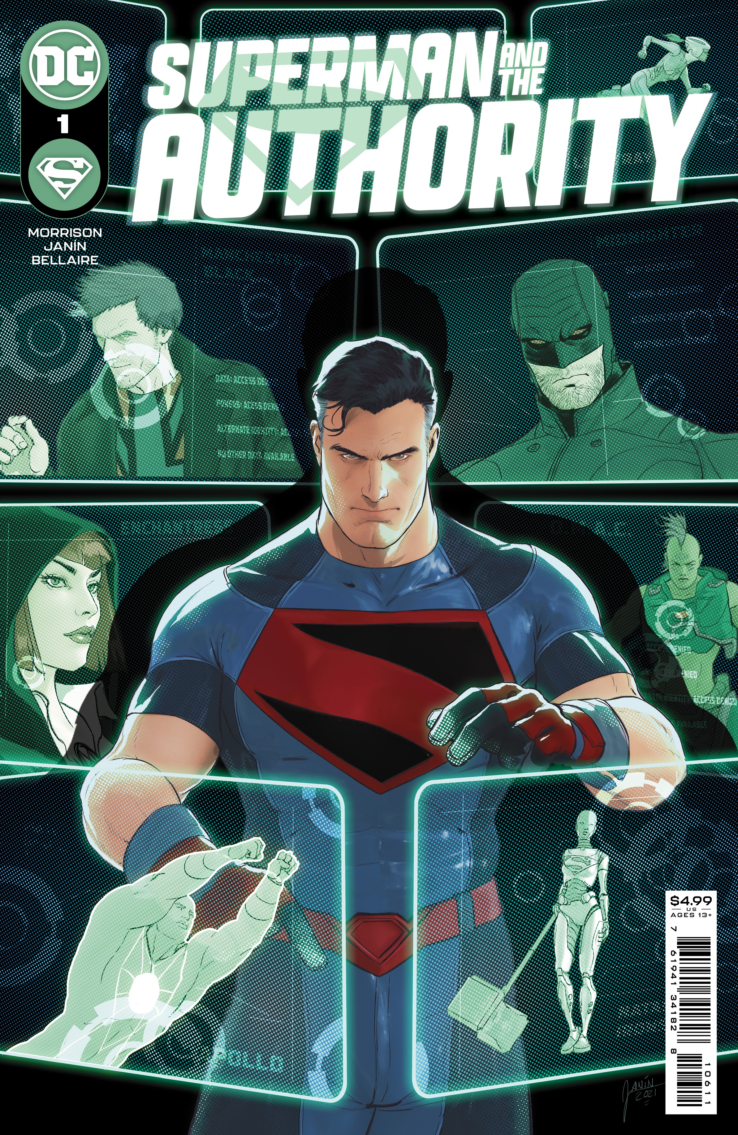 Superman and the Authority Issue One Cover