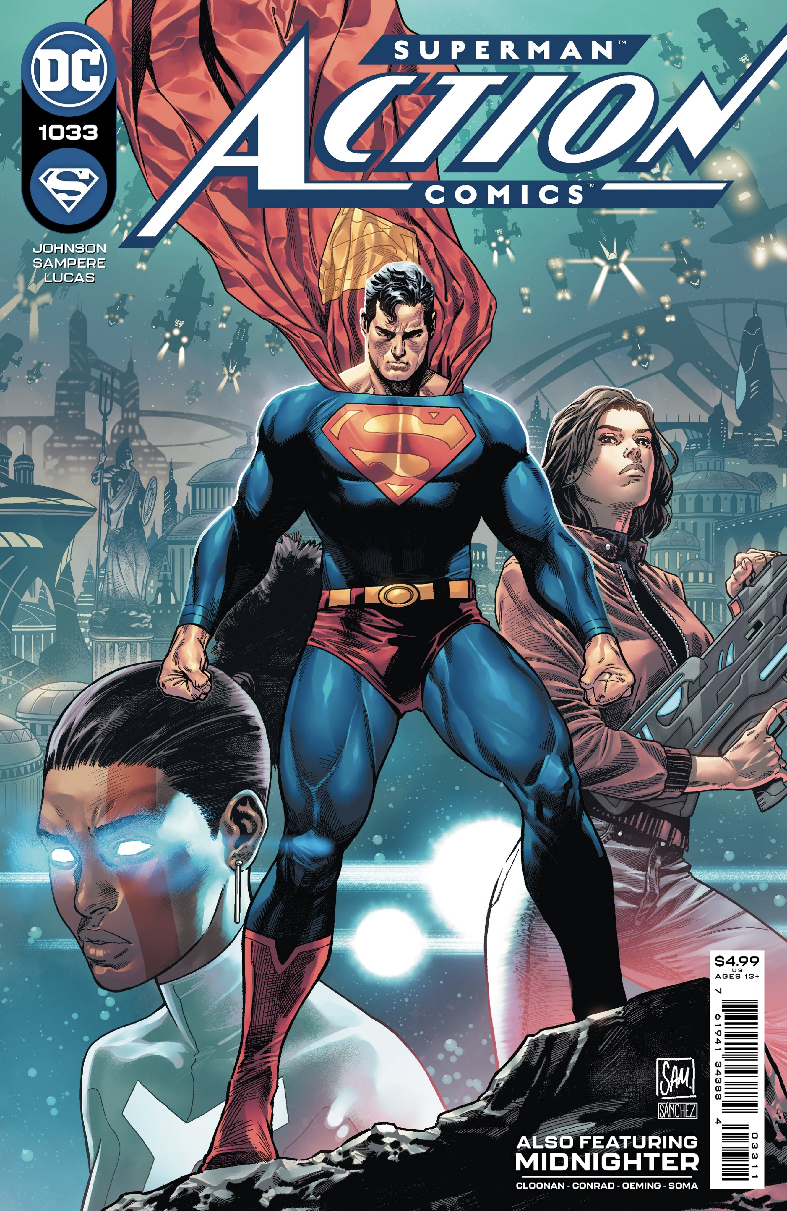 Action Comics Issue 1033 Main Cover