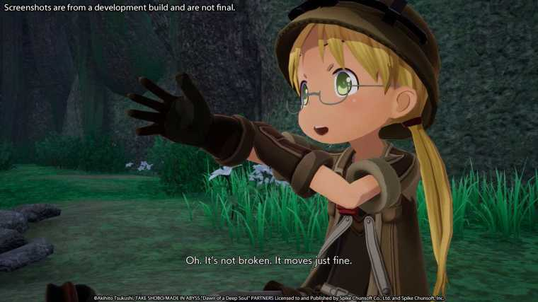 Made in Abyss Video Game Visual 3