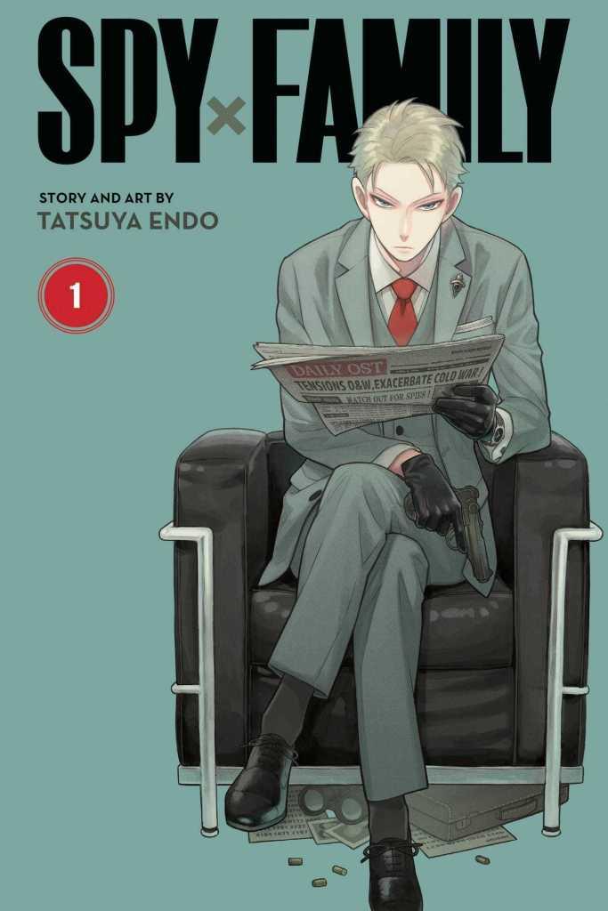 Spy x Family Volume One Cover