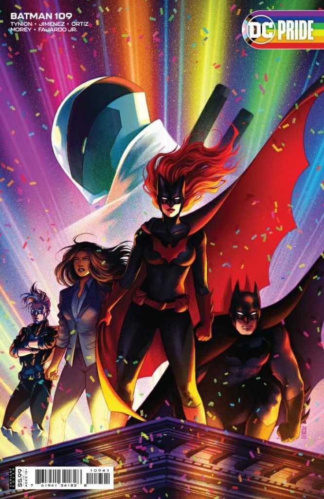 Batman Issue #109 Pride Variant Cover: Jen Bartel