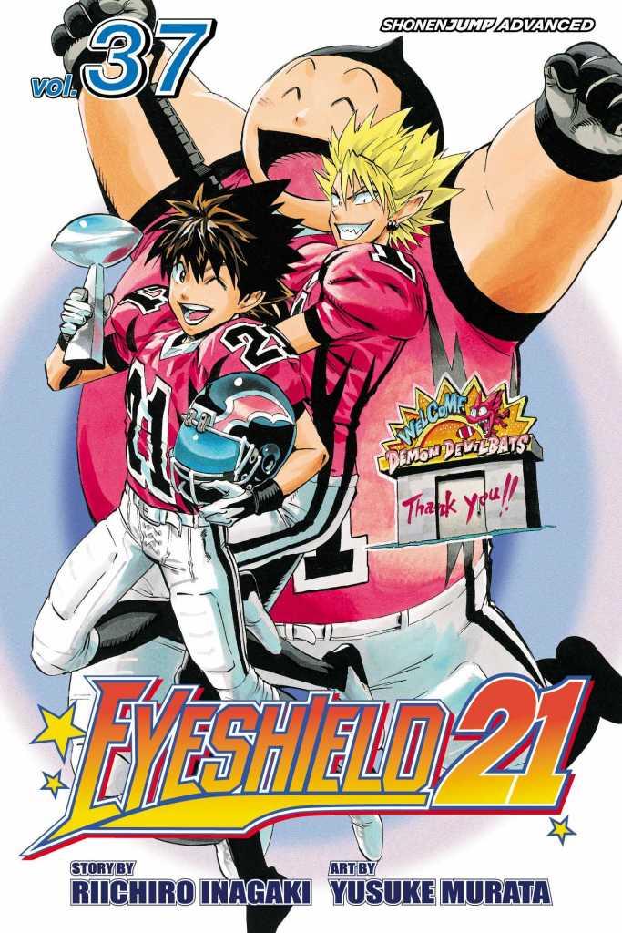 EyeShield 21 Volume 37 Cover