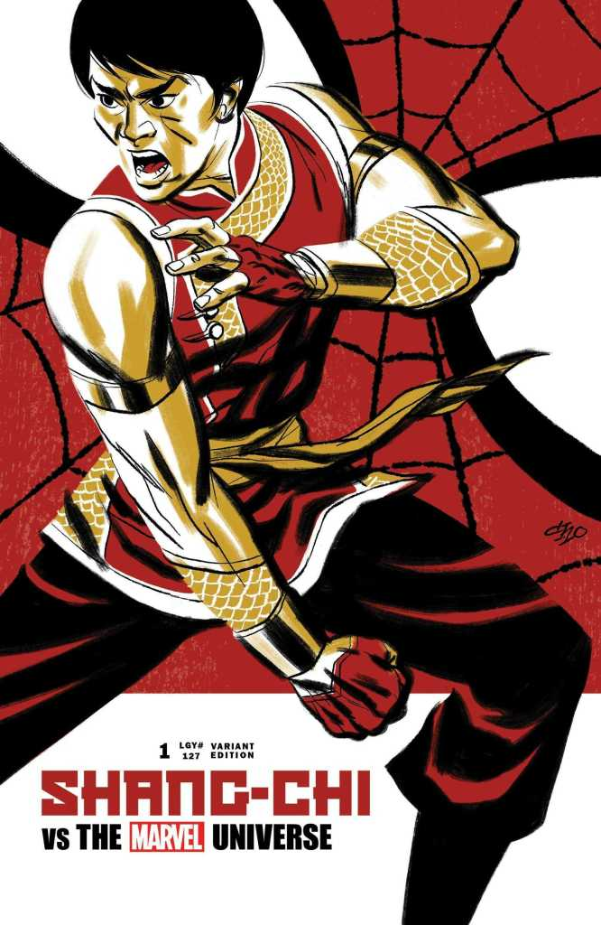 Shang-Chi Issue No. 1 Variant Cover: Michael Cho