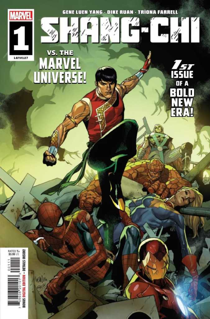 Shang-Chi Issue #1 Main Cover