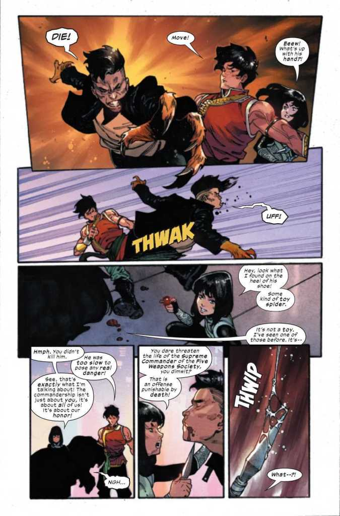 Shang-Chi Issue One Preview Page Three