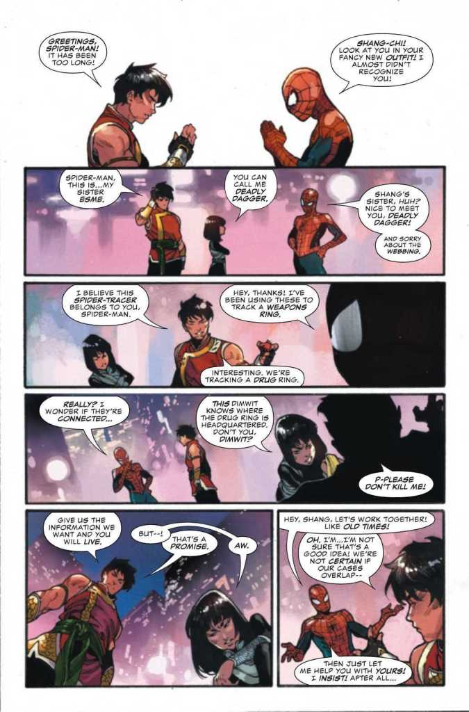 Shang-Chi Issue One Preview Page Five
