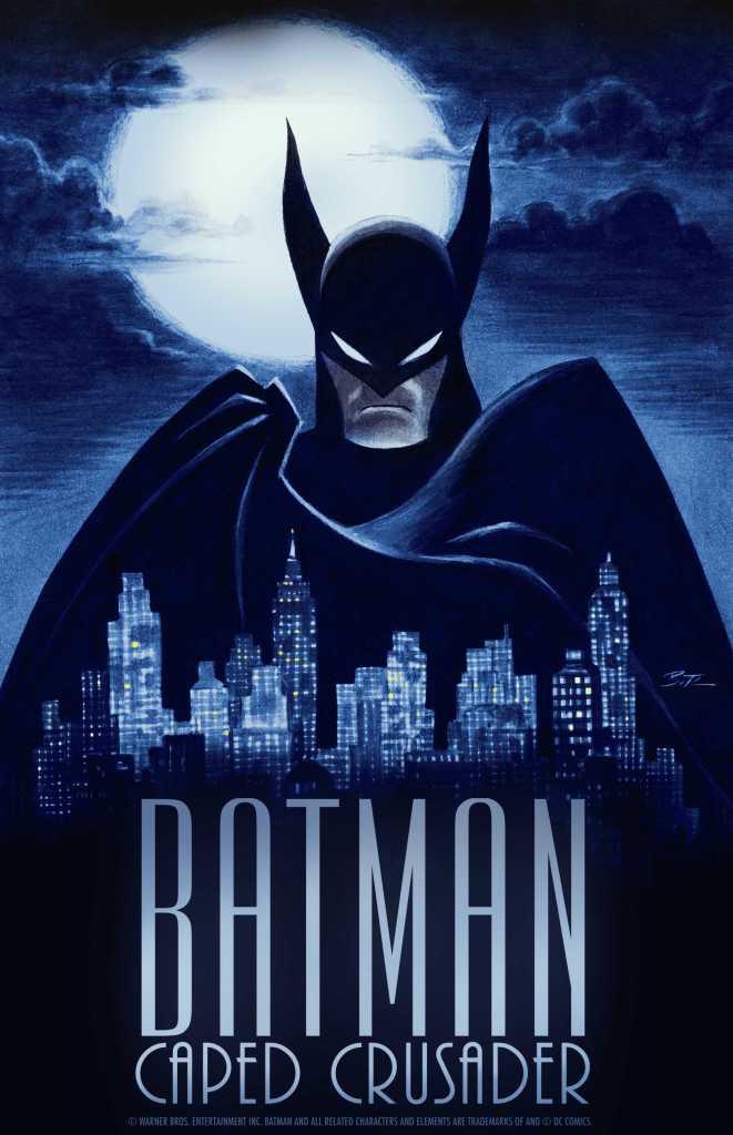 Batman Caped Crusader Poster