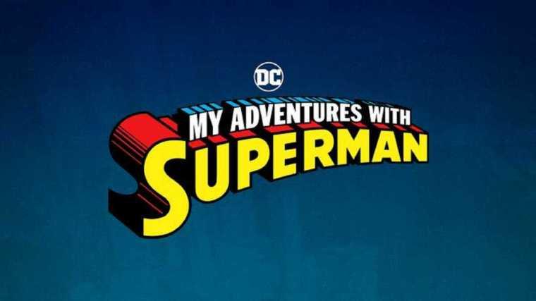 My Adventures with Superman Logo