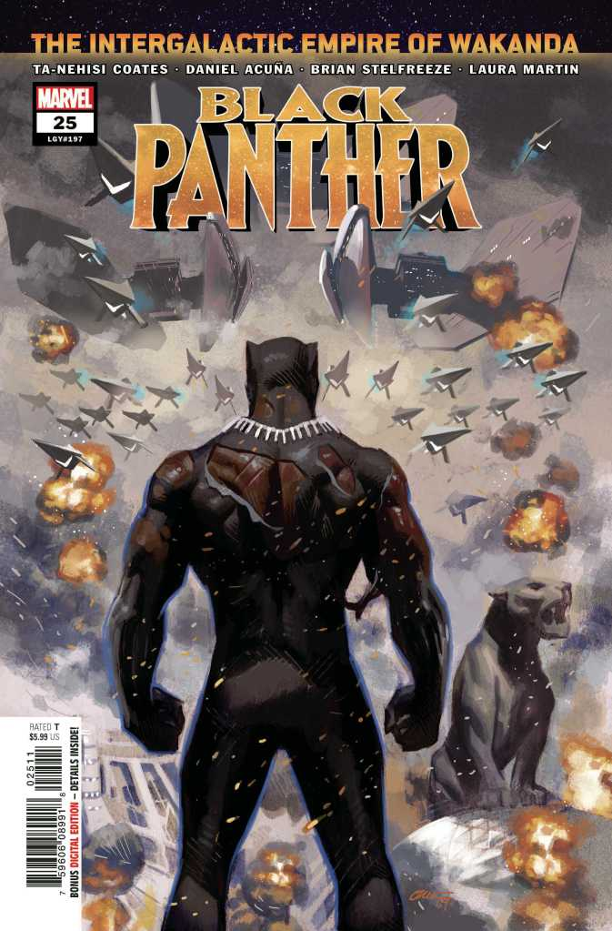 Black Panther Issue 25 Main Cover
