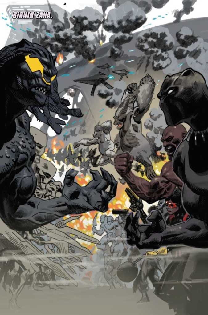 Black Panther Issue 25 Preview Page Two