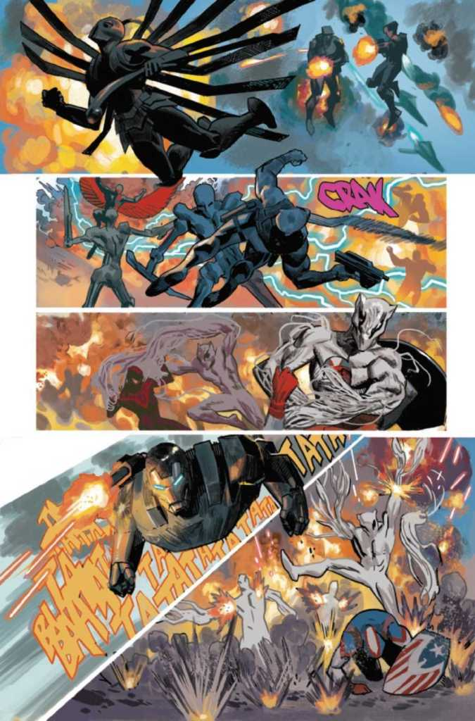 Black Panther Issue 25 Preview Page Four
