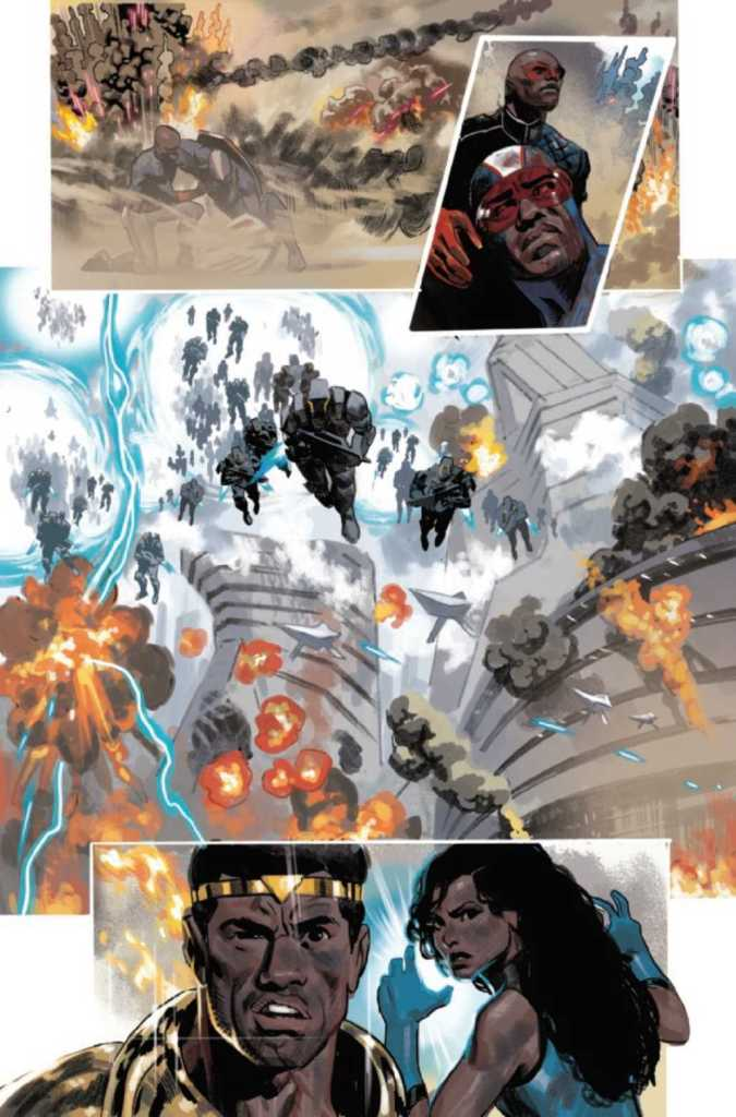 Black Panther Issue 25 Preview Page Five