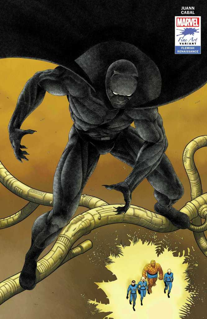 Black Panther Issue 25 Stormbreakers Variant Cover: Juan Cabal