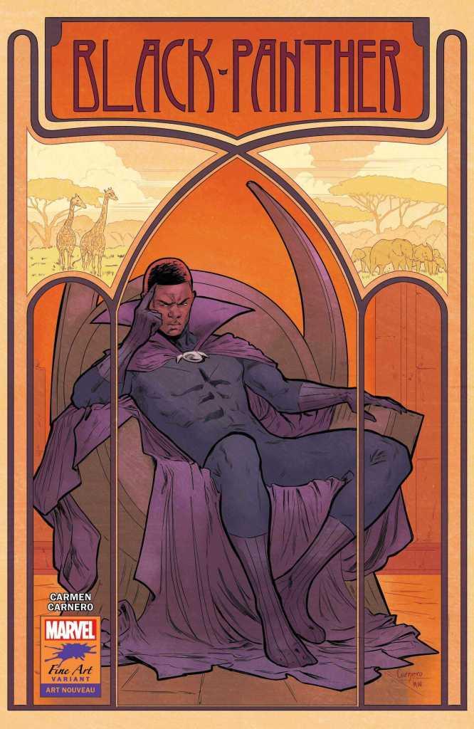 Black Panther Issue 25 Stormbreakers Variant Cover: Carmen Nunez Carnero