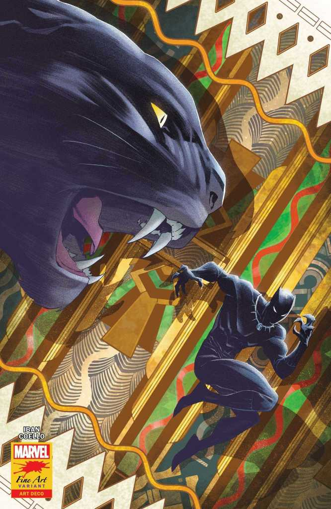 Black Panther Issue 25 Stormbreakers Variant Cover: Iban Coello