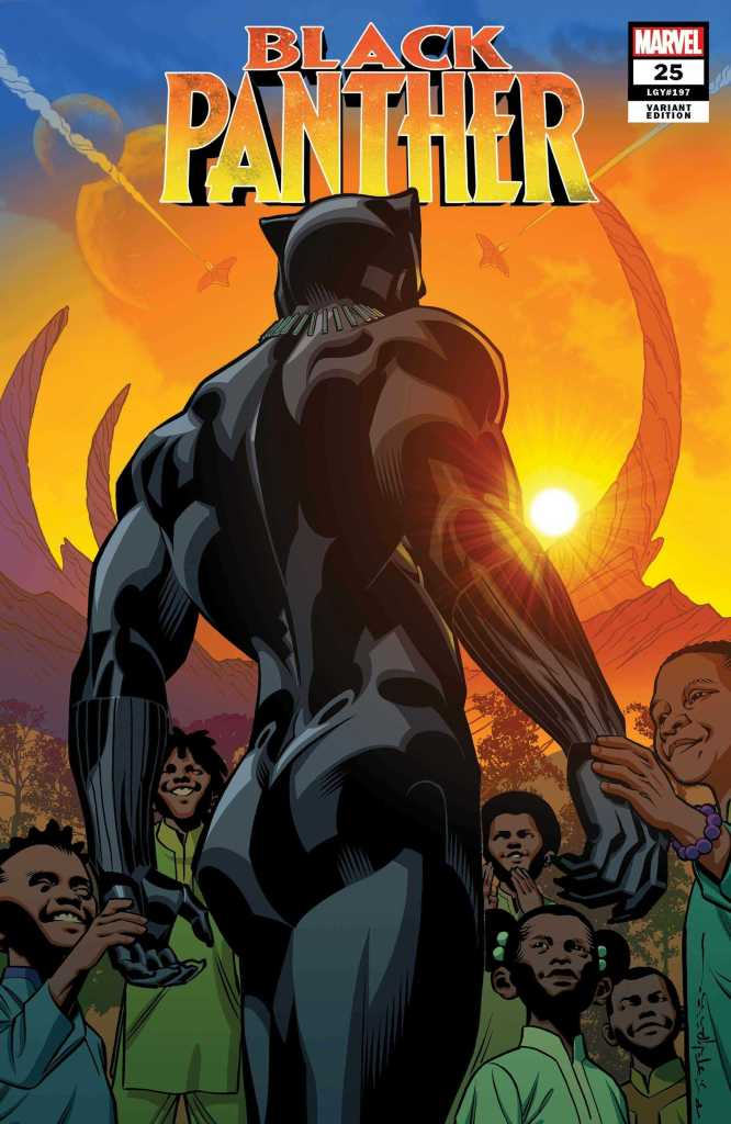 Black Panther Issue 25 Variant Cover: Brian Stelfreeze