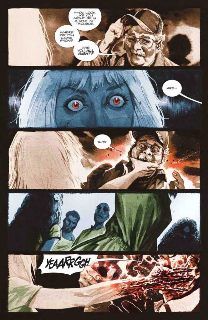 Basilisk Issue One Preview Page Three