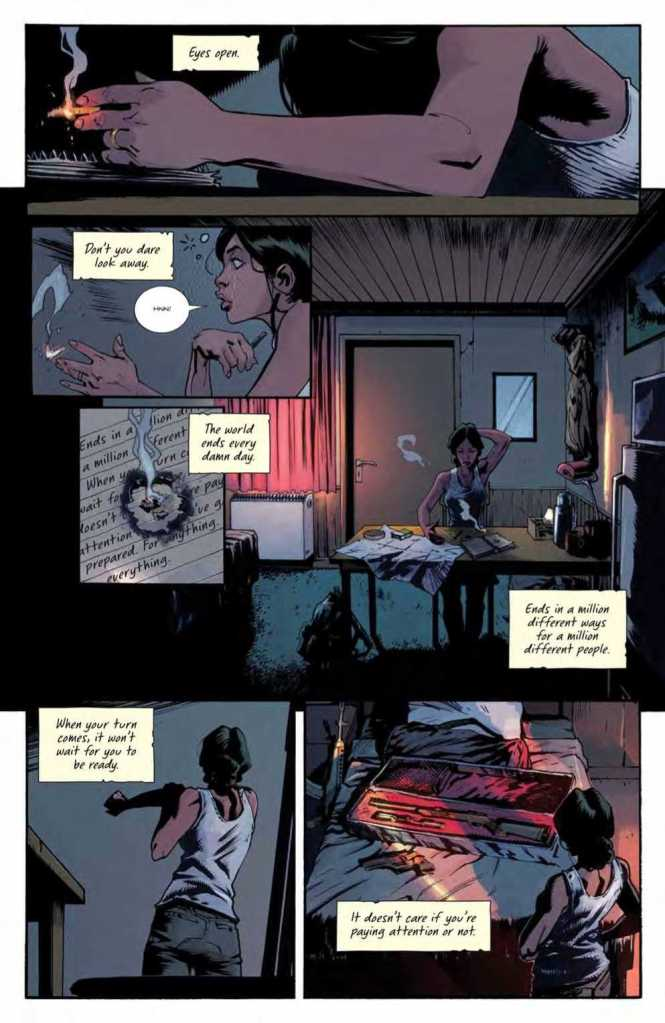 Basilisk Issue One Preview Page Four