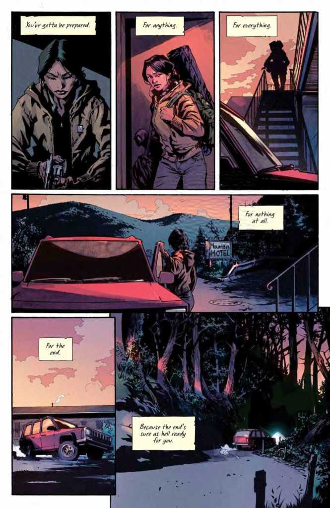 Basilisk Issue One Preview Page Five