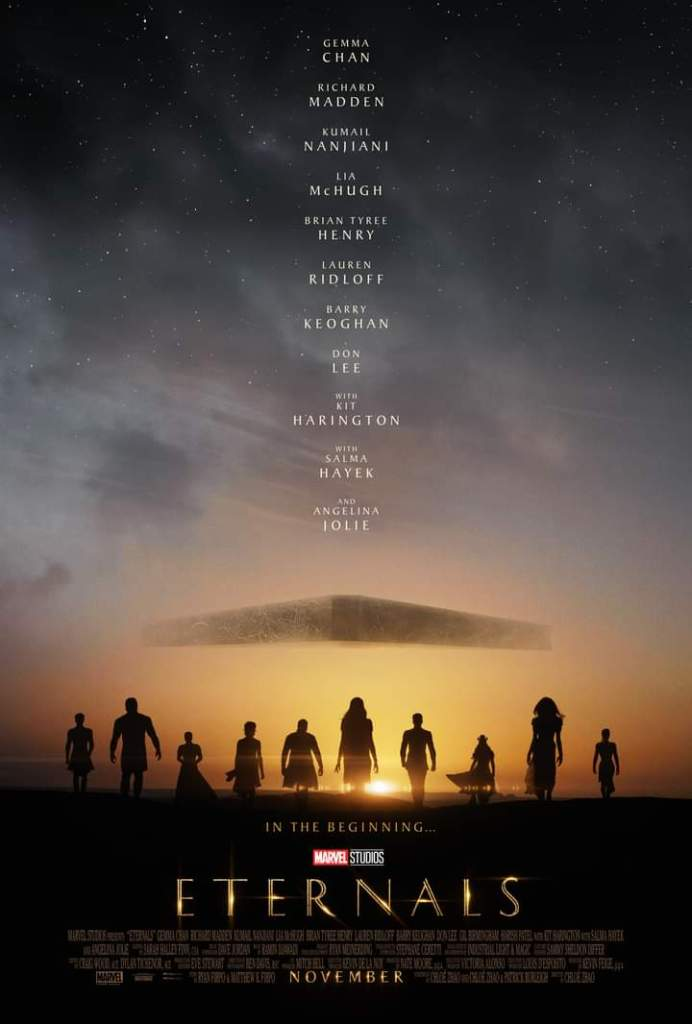 The Eternals Promotional Poster