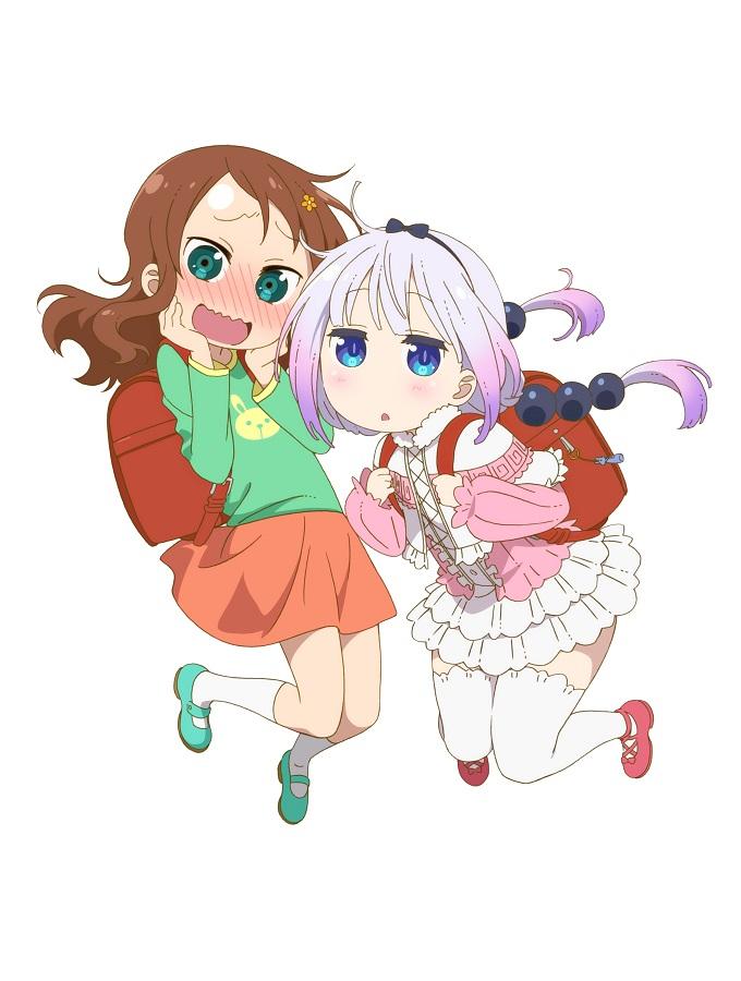 Riko Saikawa and Kanna, Miss Kobayashi's Dragon Maid S Visual