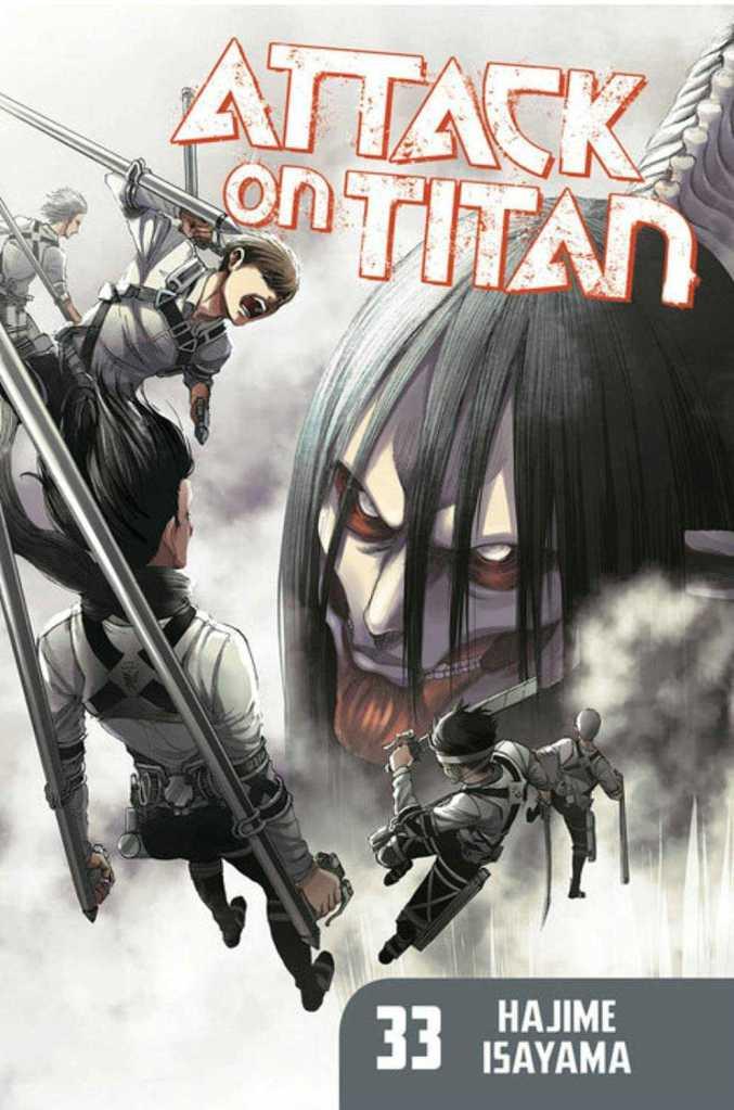 Attack on Titan Volume 33 Cover