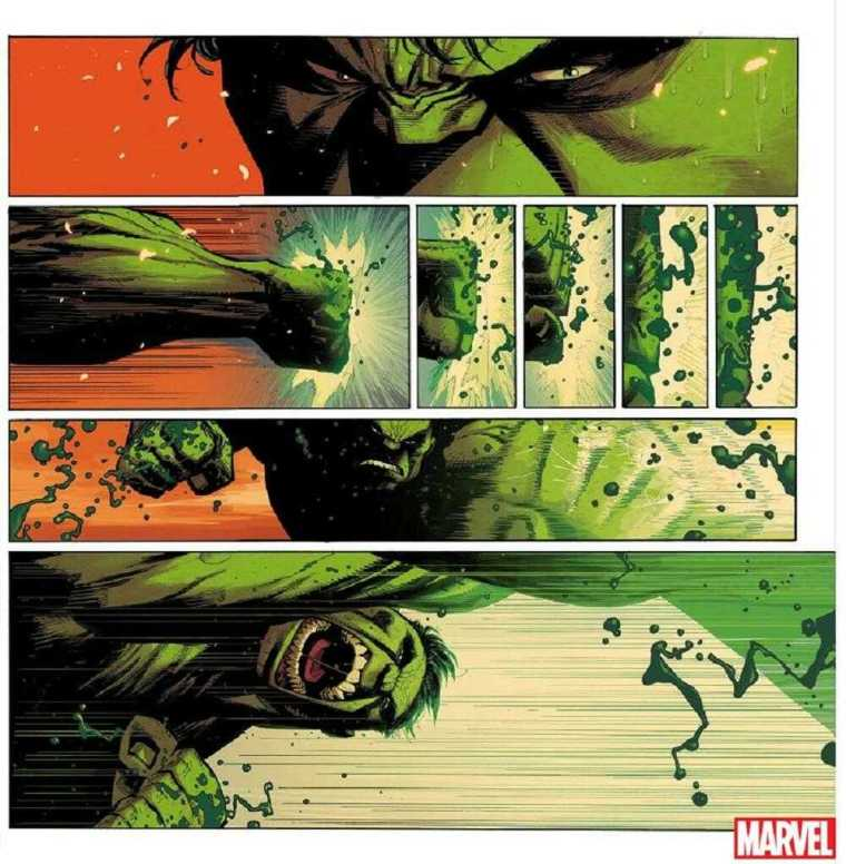 Hulk #1 Preview Page