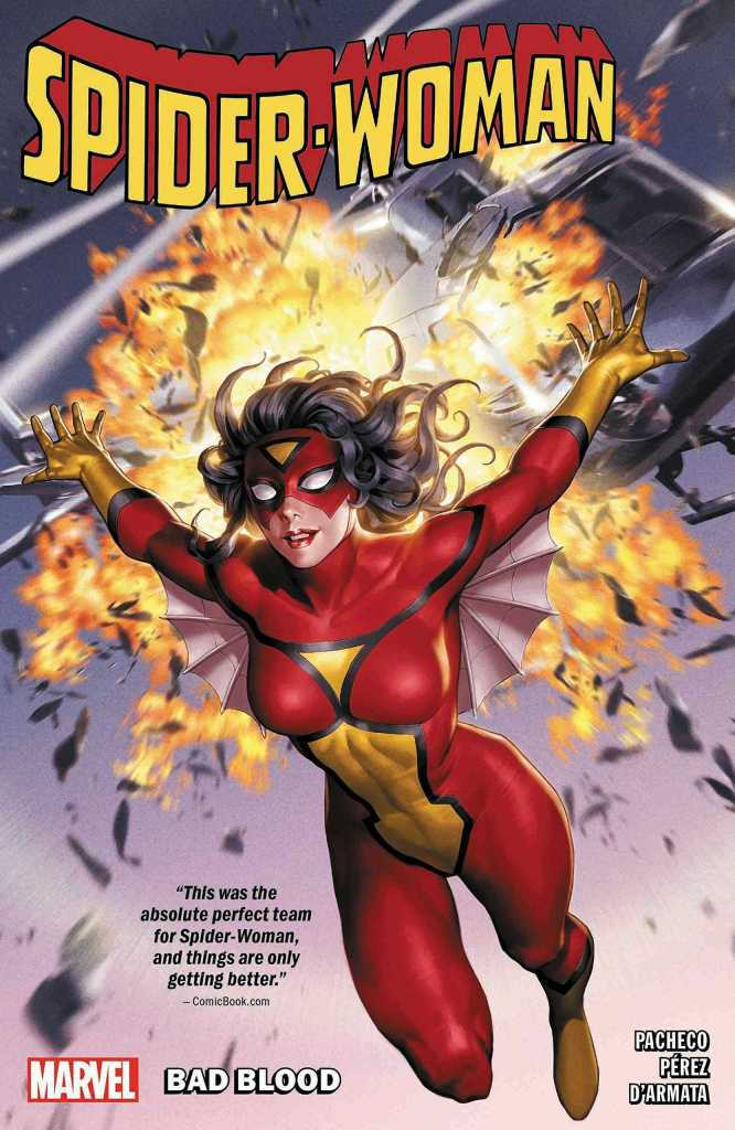 Spider-Woman Vol. One- Bad Blood Cover