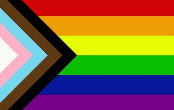 LGBTQIA+ Redesigned Flag