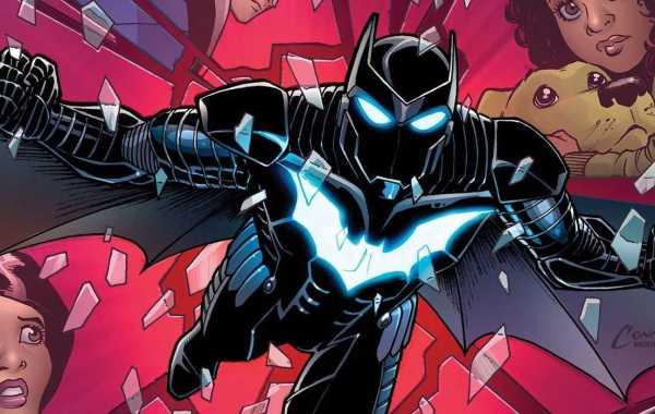 Batwing DC Comics Cover Teaser