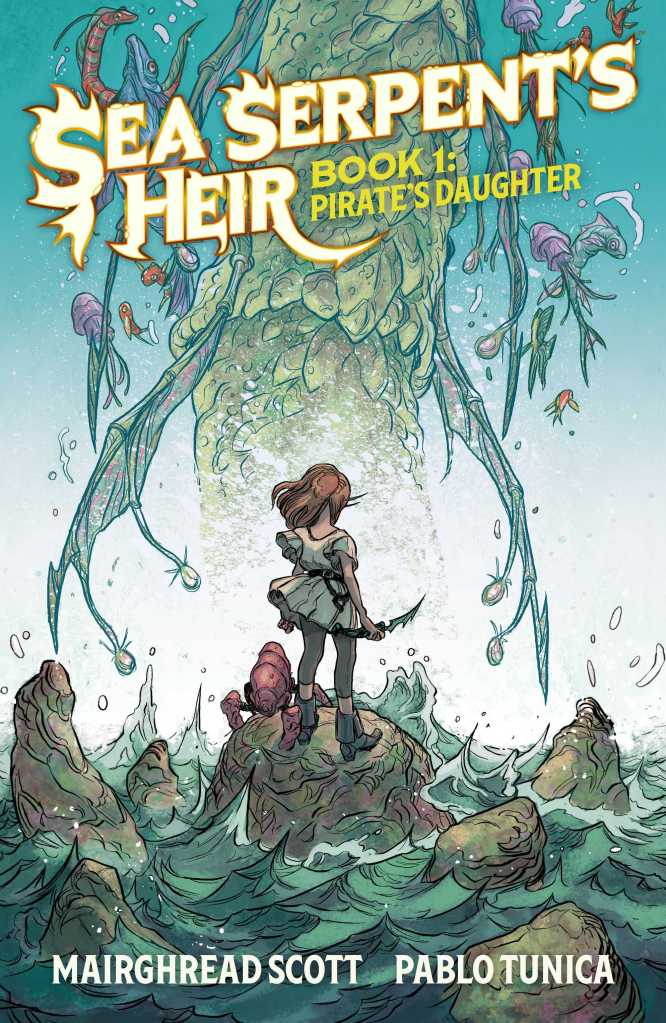 Sea Serpent's Heir Book One Cover