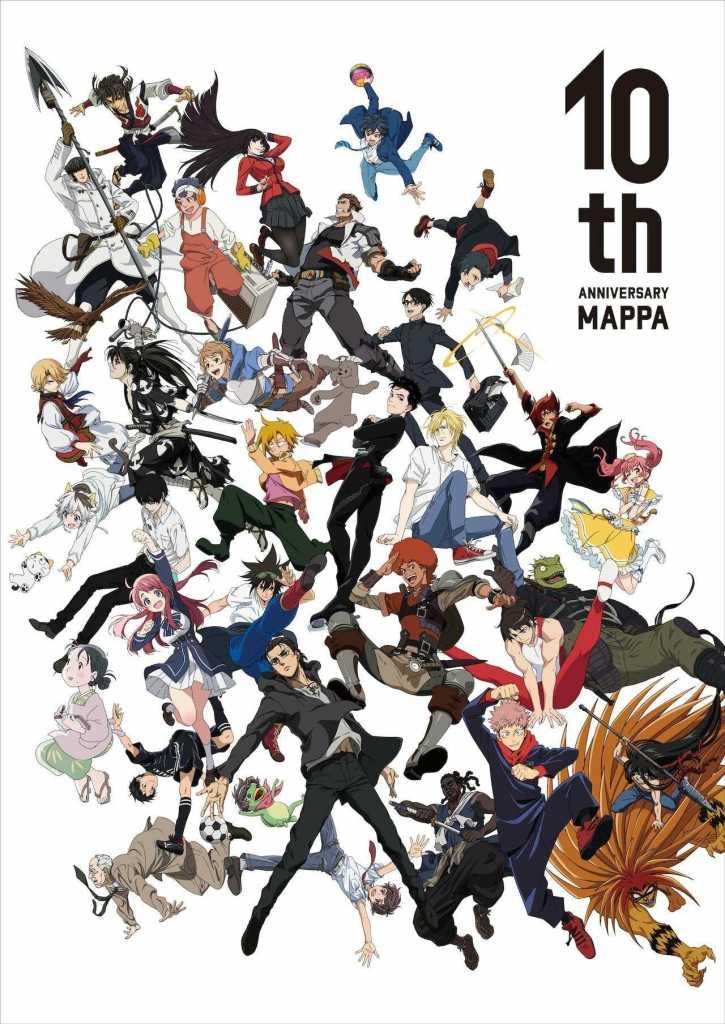 Mappa 10th Anniversary Visual