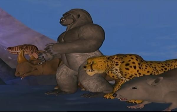 Transformers Beast Wars Animated Series Header