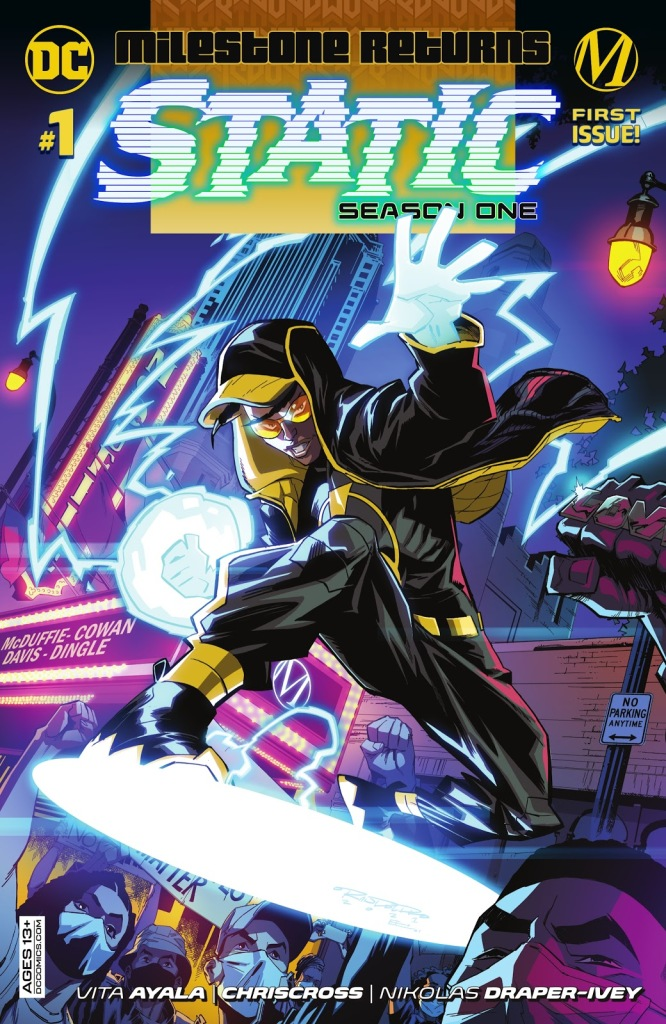 Static Issue One Cover