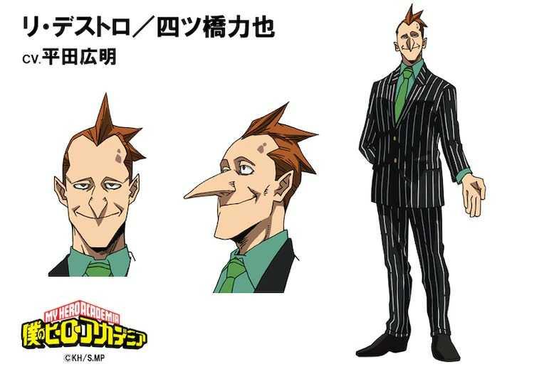 Rikiya Yotsubashi a.k.a. Re-Destro- My Hero Academia Season Five