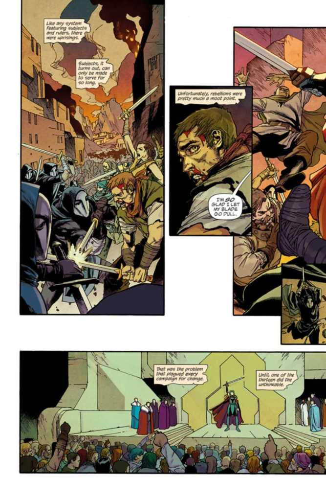 Ordinary Gods Issue One Preview Page 3