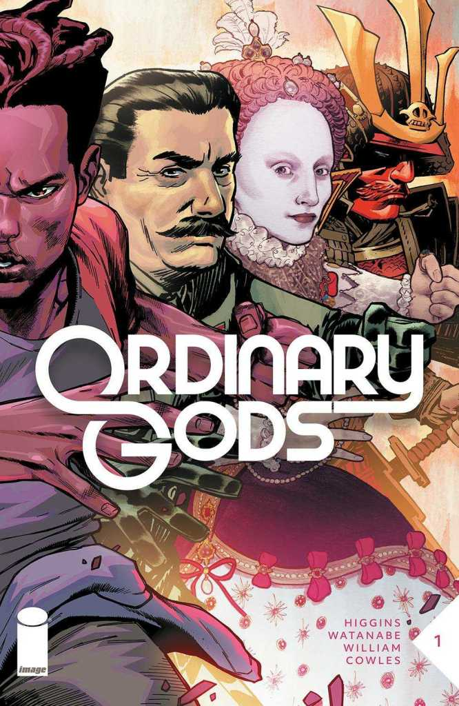 Ordinary Gods Issue One Cover