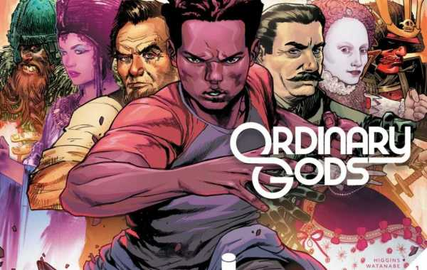 Ordinary Gods Issue One Wrap Around Cover