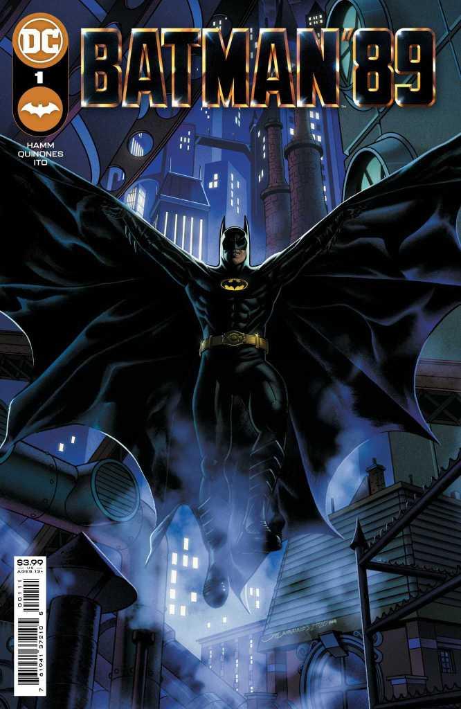 Batman '89 Issue One Main Cover