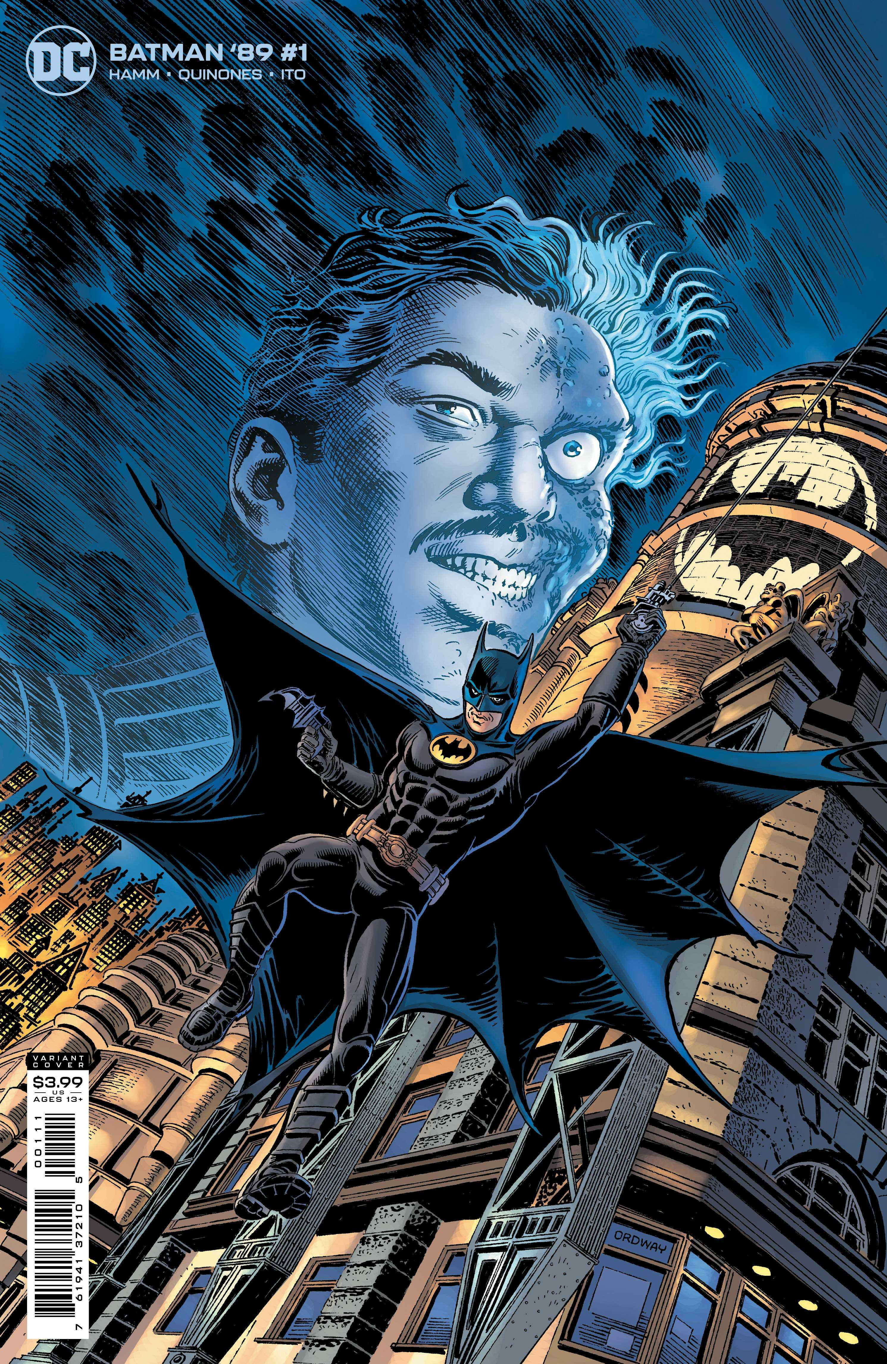 Batman '89 Issue One Variant Cover- Jerry Ordway