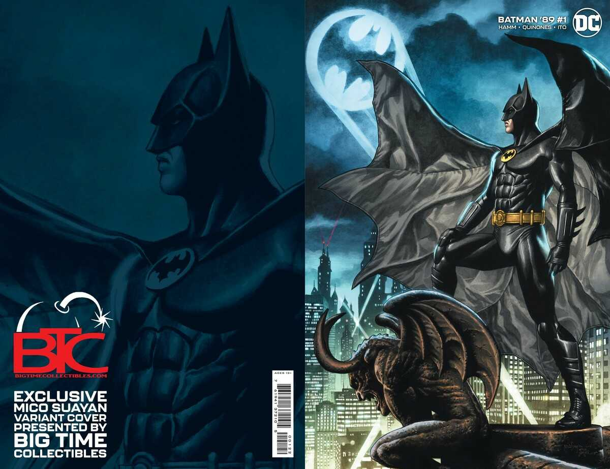 Batman '89 Issue One Team Variant Cover- Mico Suayan, Big Time Collectibles Edition