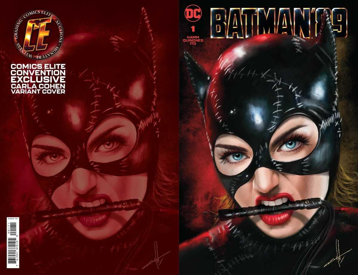 Batman '89 Issue One Variant Cover- Carla Cohen, Comics Elite Edition