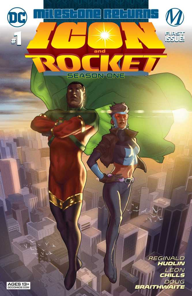 Icon & Rocket Season One Issue One Main Cover