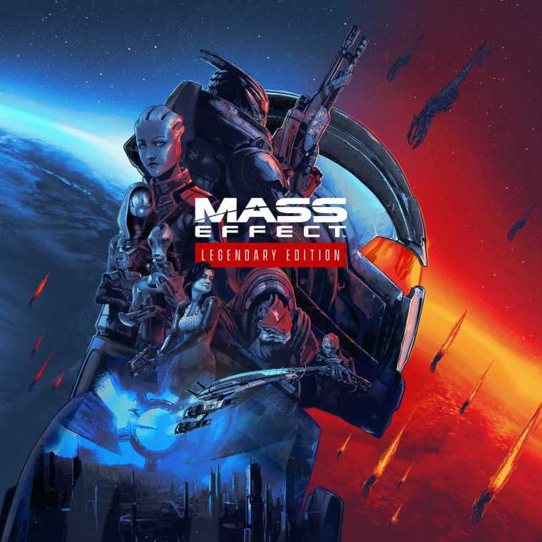 Mass Effect Legendary Edition Game Cover