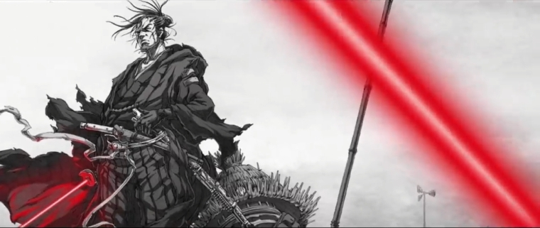 "Kamikaze Douga - ""The Duel"""
