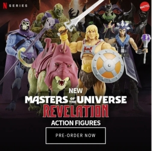 Masters of the Universe Entertainment Earth